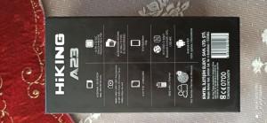 08/02/2021 Tarihinde Sertek Bilişimden Aldığım Hiking A23 Cep Telefonun Parmak İzi Ve Kamerası Sorunlu