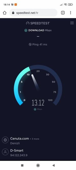 D-smart 16 Dan 24 Mbps İnternet Aldım Ama Aldığım Hız 12 Ve 13 Civarı Çıkıyor