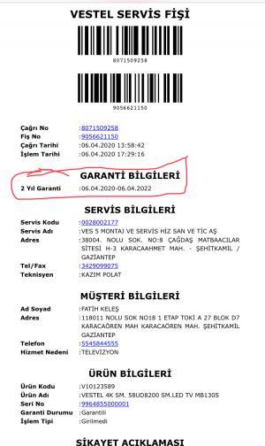 İstanbul Bilişim *** Beyan Garanti Süresi