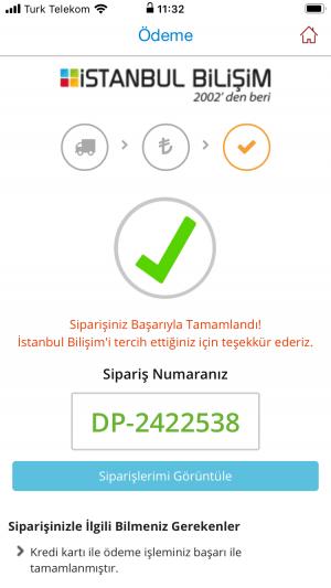 İstanbul Bilişim Satın Aldıktan Sonra 15 Gün Sonra Gönderileceği Bilgisini Okudum