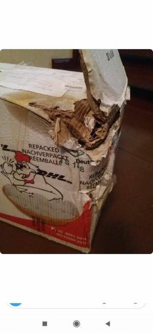 Ptt Almanya'ya Gönderdiğim Paketimin Hali İçler Acısı Paketin İçinde Fare Çıktı Tüm Eşyaları Tırtıklamış