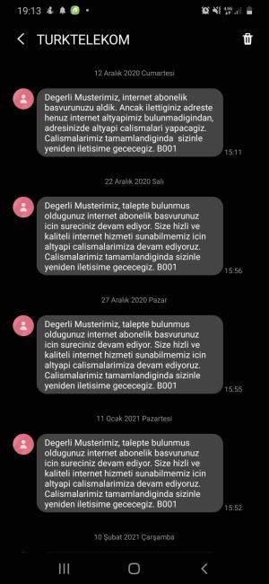 Türk Telekom Alt Yapı Sorunu