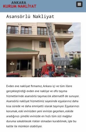 Ankara Kurum Nakliyat Bu Firmayla Asla Eşya Taşıtılmaz