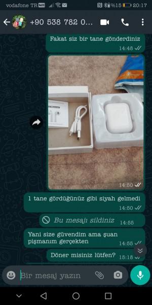 Airpodsmarketimm Instagram'dan Engelledi Beni Ve Whatsapp Mesajlarıma Dönmüyor