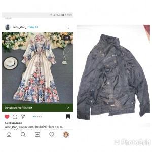 Butix_star_ Elbise Siparişi Verdim Ama Elbisenin Yerine Yırtık Mont Gönderdiler