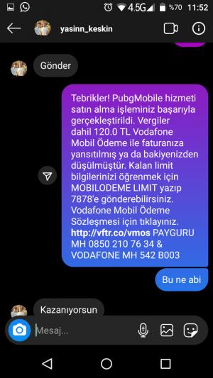 Vodafone Mobil Ödeme