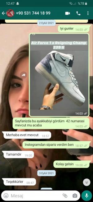 Sauda_shoes Erkek Ayakkabısı Sipariş Ettim Bayan Ayakkabısı Gönderildi