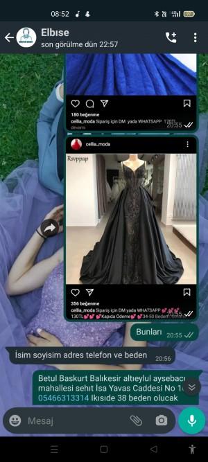 Cellia_moda Farklı Ürün Gönderdiler