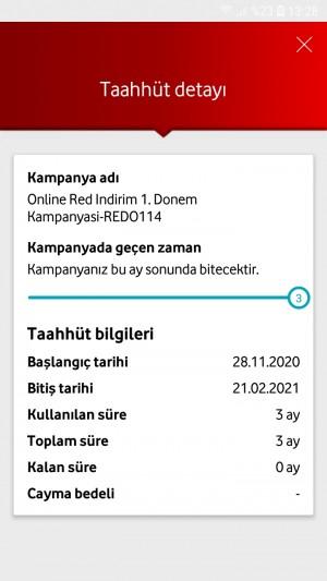Vodafone Fatura Sıkıntısı