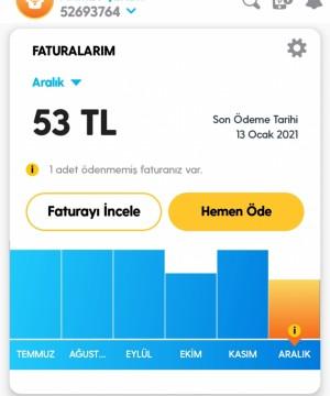 Turkcell Superonline Fatura Tutarsızlığı