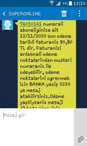 Turkcell Faturamı İptal Ettirmek