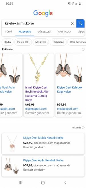 Çiçek Sepeti Google Arama Alışveriş Ve İçerik Farklı