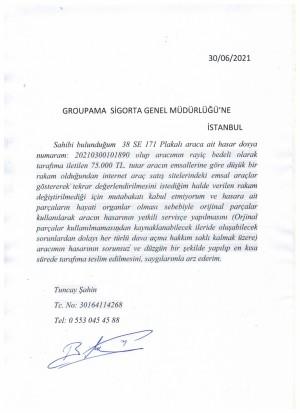 Groupama Sigorta Kasko Rezaleti!!