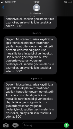 Türk Telekom İnternet Arızası