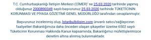 İstanbul Bilişim Sitesinden Elektrik Süpürgesi Siparişi Verdim