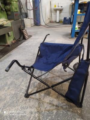 Şok Market Kamp Sandalyesi Kırık Çıktı