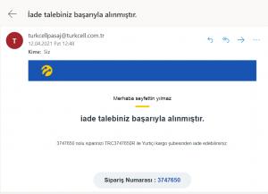 Turkcell Pasaj Ürünümü Kaybetti...