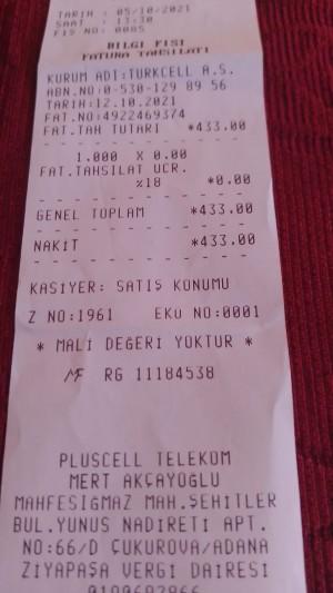Turkcell Superonline Ücretlendirme Hatası
