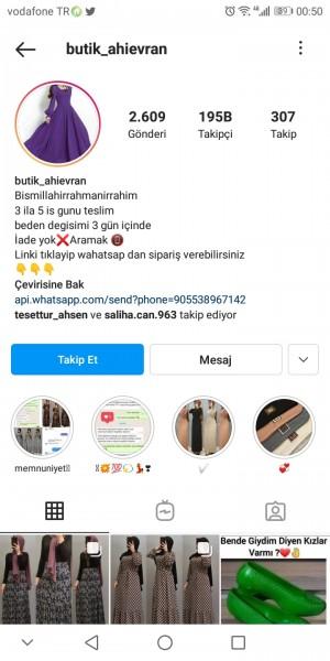 Butik_ahievran Ürün İadesi Ret