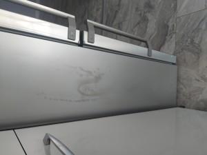 Bosch Buzdolabı Yan Gövdesinde Lekelenme Çillenme Boya Akması