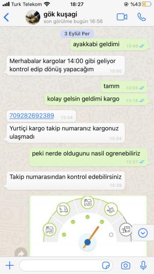 Gokkusagii_kundura Yanlış Sipariş